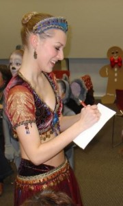 66 Melanie in nutcracker4 - Arabian signing autographs